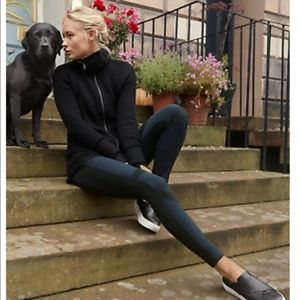 ATHLETA Summiter Tights Leggings Black {HH32}